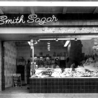 C – Smith Sagar Shop in 1963, The Mall, Burnley